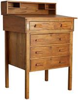 Rejuvenation Oak and Maple 4-Drawer Military Standing Desk