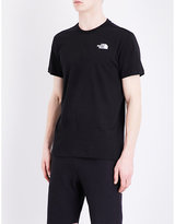 The North Face Back Logo-print Cotton-jersey T-shirt