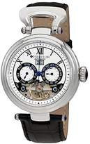 Heritor Ganzi Automatic Multi-Function Silver Dial Men's Watch HR3301