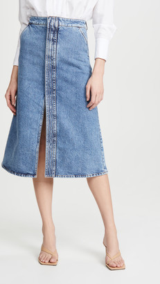 Stella McCartney Skirt Eco Organic Vintage Salt & Pepper