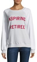 Wildfox Couture Aspiring Retiree Sweatshirt
