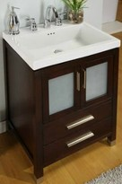 "Chelsea 24"" Bathroom Vanity Base Only Empire Industries Base Finish: Dark Cherry"