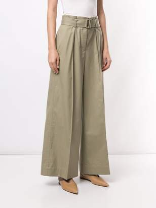 TOMORROWLAND belted high-waisted trousers