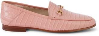 Sam Edelman Loraine Croc-Embossed Loafers