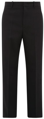 Jil Sander Thirsk Straight-leg Wool Trousers - Black