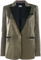 Karl Lagerfeld slim fit tuxedo blazer