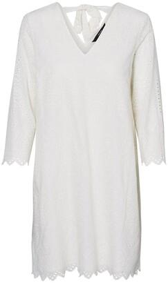 Vero Moda Cotton Shift Dress with Tie-Back