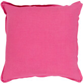 Surya Solid Throw Pillow