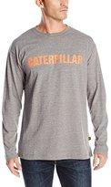 Caterpillar Men's Stand-Out Trademark Long Sleeve T-Shirt