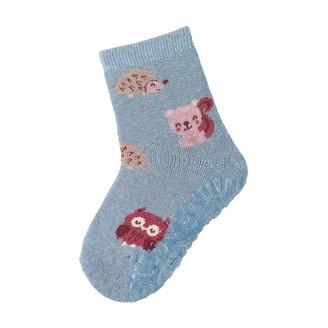 Sterntaler Girl's FLI Soft Waldtiere Calf Socks