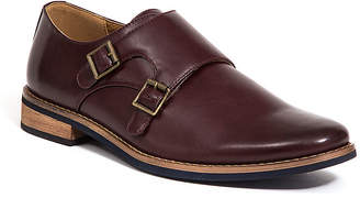 Deer Stags Mens Cyprus Monk-Strap Buckle Oxford Shoes