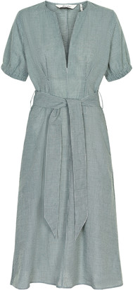 Green Cotton And Less - Castor Polyester Stephanie Dress - 36 - Green