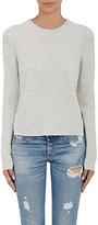 Rag & Bone Women's Cashmere Valentina Crop Sweater-LIGHT GREY