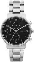 Skagen Men's Chronograph Ancher Stainless Steel Bracelet Watch 40mm SKW6360