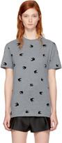 McQ Grey Micro Swallow Classic T-shirt