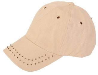 Hawkins 100% Cotton Ultra Stylish Womens Studded Baseball Cap (Beige 57cm)