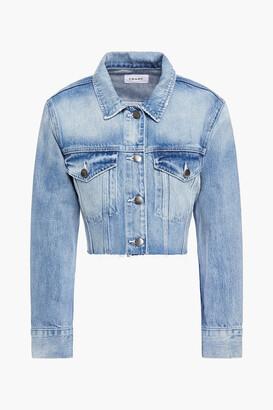 Frame Cropped Denim Jacket