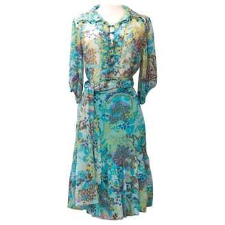 Ungaro Blue Silk Dresses