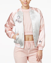 The Edit By Seventeen Juniors' Patch Bomber Jacket, Only at Macy's