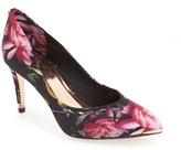Ted Baker Women's 'Charmesa 2' Floral Satin Pump
