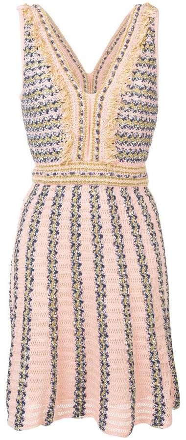M Missoni intarsia knit dress