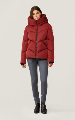Soia & Kyo RHODA sporty down jacket with large hood