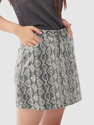 Blank NYC Snake Skirt