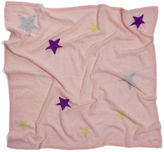 White + Warren Cashmere Star Intarsia Blanket
