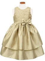 Sorbet Toddler Girl's Lace & Taffeta Dress