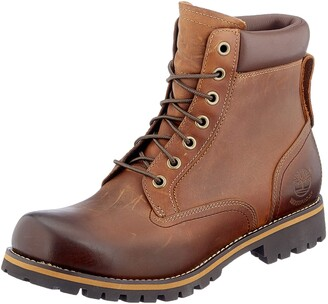 Timberland Rugged 6 Inch Plain Toe Waterproof Men's Boots