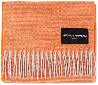 Heating & Plumbing London Love Stories Cashmere Scarf - Tangerine