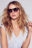 Free People Womens DIXIE TWO-TONE SUNGLASSES