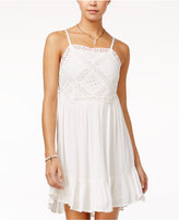 American Rag Eyelet-Trim Ruffle-Hem Sundress, Only at Macy's