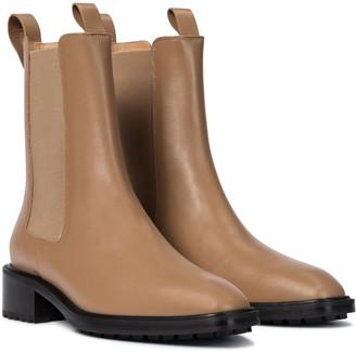 AEYDĒ Simone leather ankle boots