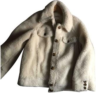 BA&SH Fall Winter 2019 White Cotton Coats