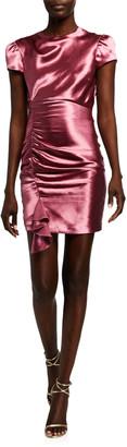 Cinq à Sept Natalia Short-Sleeve Cocktail Dress