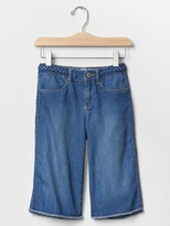 Gap 1969 Braid Denim Culottes