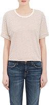 Current/Elliott Women's Breton-Striped Cotton-Blend T-Shirt