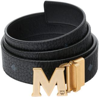 """MCM Claus Antique M Reversible Belt 1.5"""" in Visetos"""