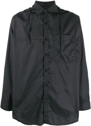 David Catalan Hooded Shirt Jacket