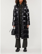 Anine Bing Mary longline puffer shell coat