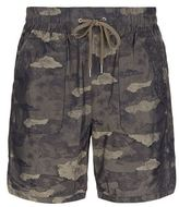 Helmut Lang Camouflage Patch Pocket Shorts