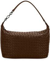 Bottega Veneta Small East-West Zip Hobo Bag