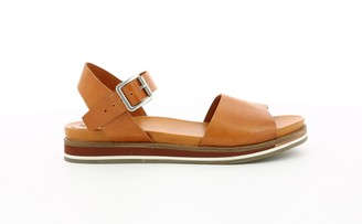 Kickers Olimpia Leather Flat Two Part Sandals