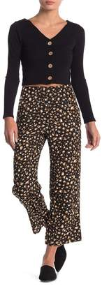 Dee Elly Patterned Crop Pants