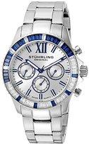 Stuhrling Original Women's 591.01 Vogue Coronia Analog Display Swiss Quartz Silver Watch