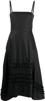 Molly Goddard A-line panelled dress