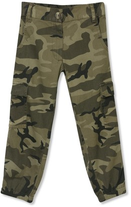 M&Co Camo print combat trousers (3-12yrs)