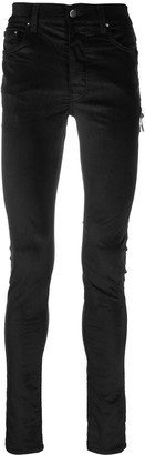 Amiri Velvet Stack skinny trousers