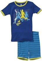 Petit Lem Soccer 2 Piece Set (Toddler/Kids) - Blue-4